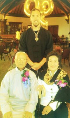 david wei with grand masters y.c. chiang and hui liu